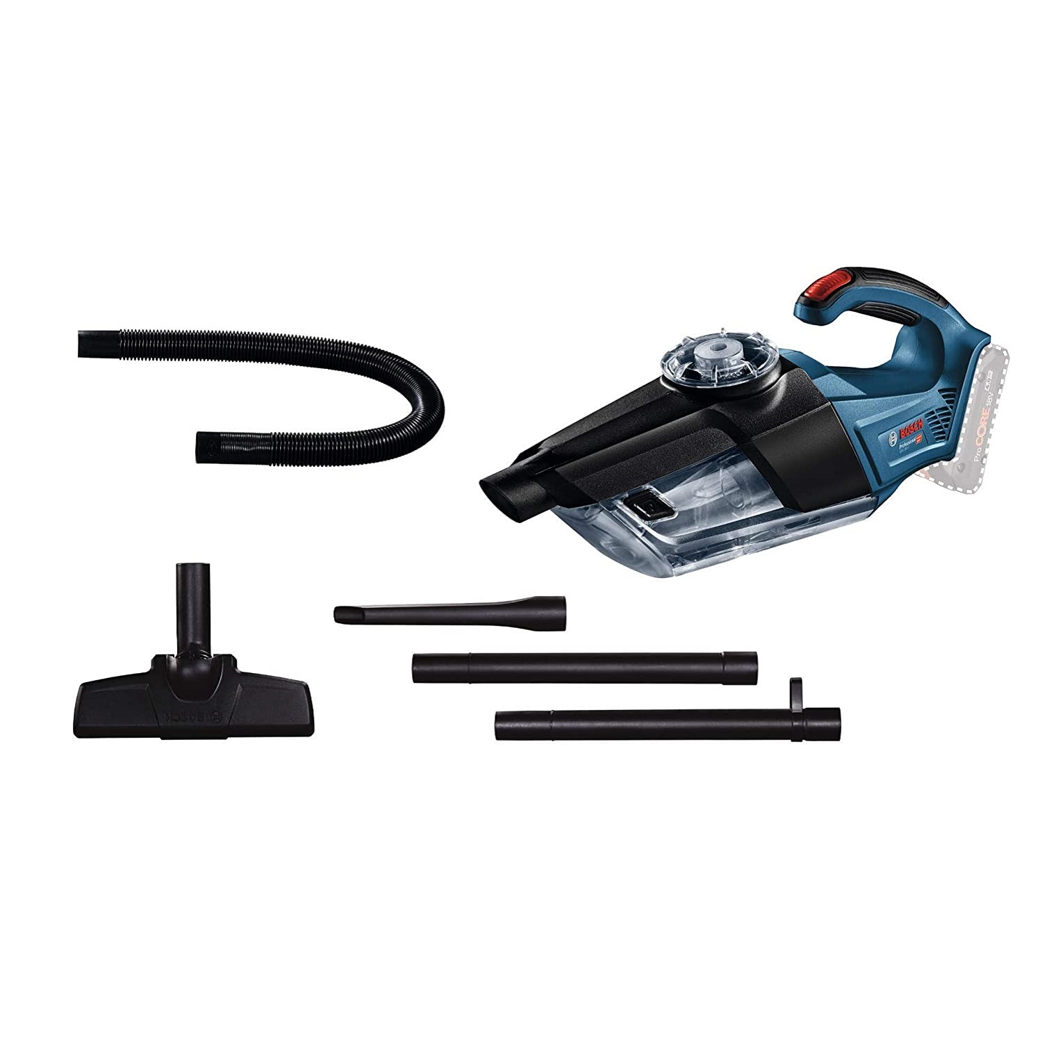 Bosch Professional 06019C6200 Gas 18 V1 Dust Extraction Vacuum