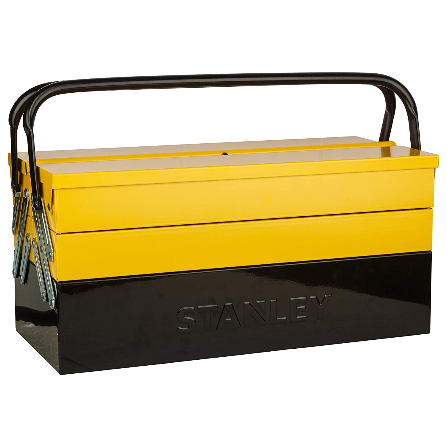 STANLEY Cantilever Tools Box 5 Tray Double Handle,1-94-738