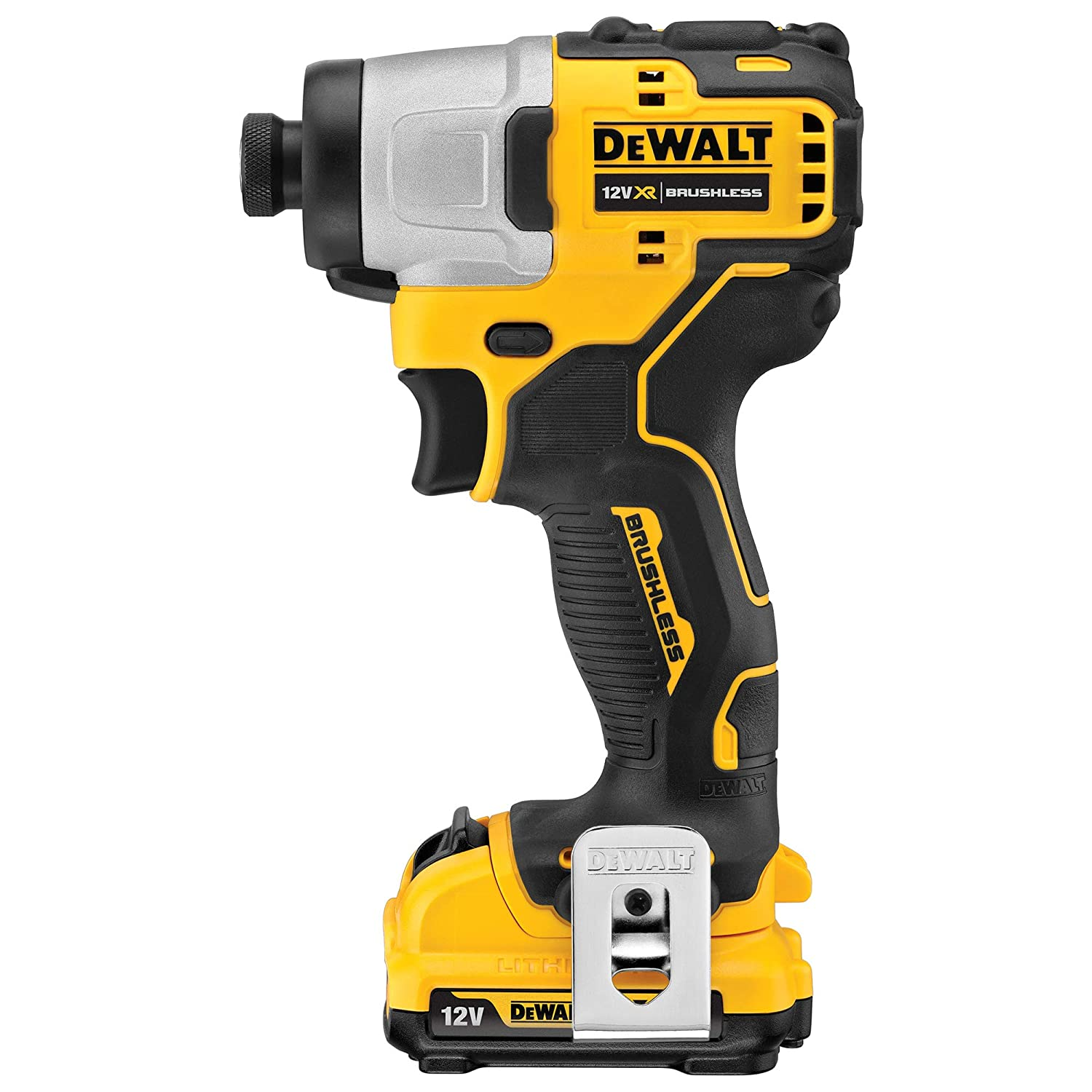 12V, Brushless Compact Impact Driver