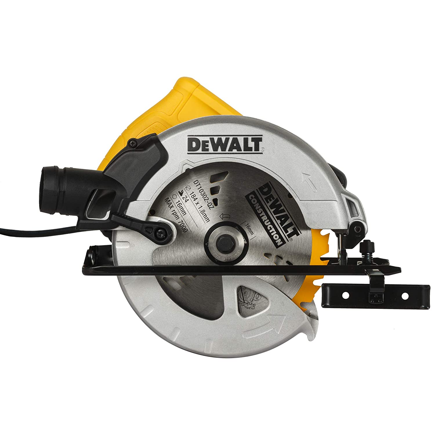 1350W, 185mm, Compact Circular Saw with DT1151 wheel